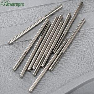 Image 2 - 10 sztuk Shank długi papier ścierny Split Point prosto trzpienie F/Dremel obrotowy Adapter narzędzie 2.35mm
