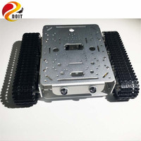 Official DOIT Caeser TD200 4WD Tracked Metal Tank Car Chassis Smart Robot Toy Robotic Competition