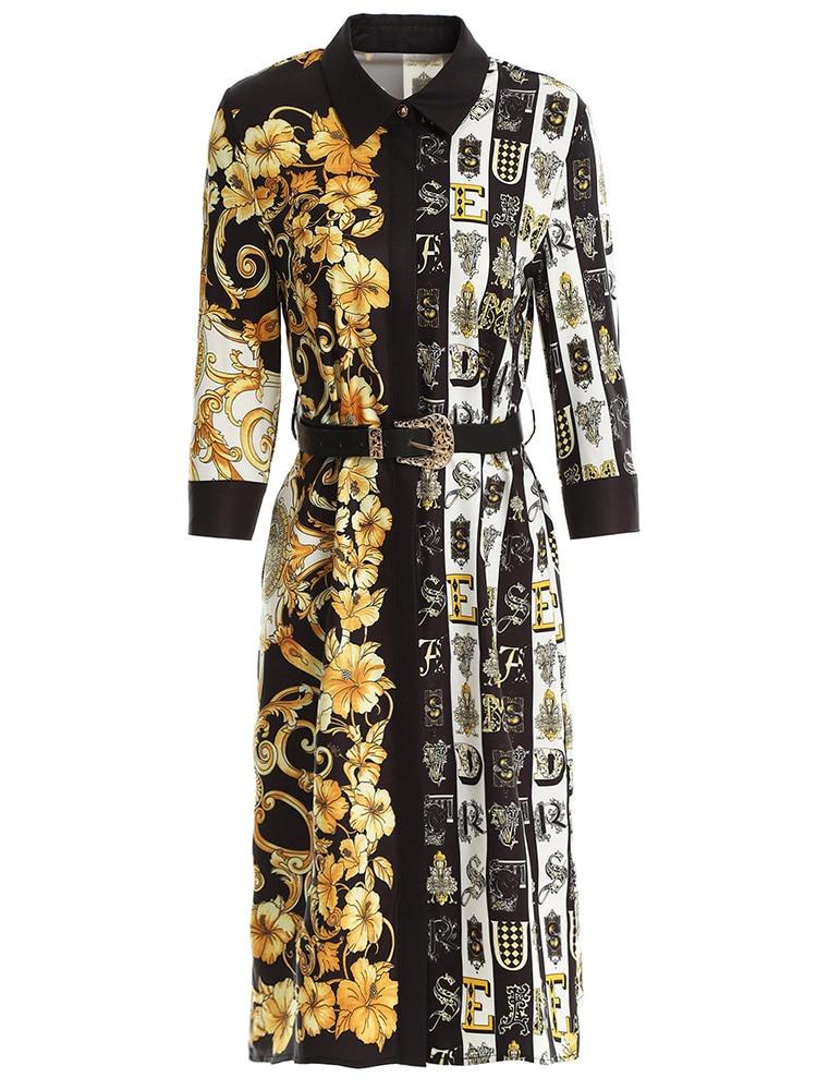 2019 أزياء المرأة الجديدة عارضة الملونة اللباس والأبيض فستان صيفي للفتيات و فام الملونة حزب اللباس للسيدات-في فساتين من ملابس نسائية على  مجموعة 1