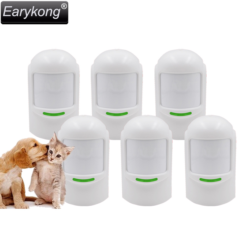 Hot Selling Free Shipping Wholesale Price Wireless Passive 12Kg Pet infrared Detector For Home Burglar Alarm System dog fence wireless containment system pet wire free fencing kd661