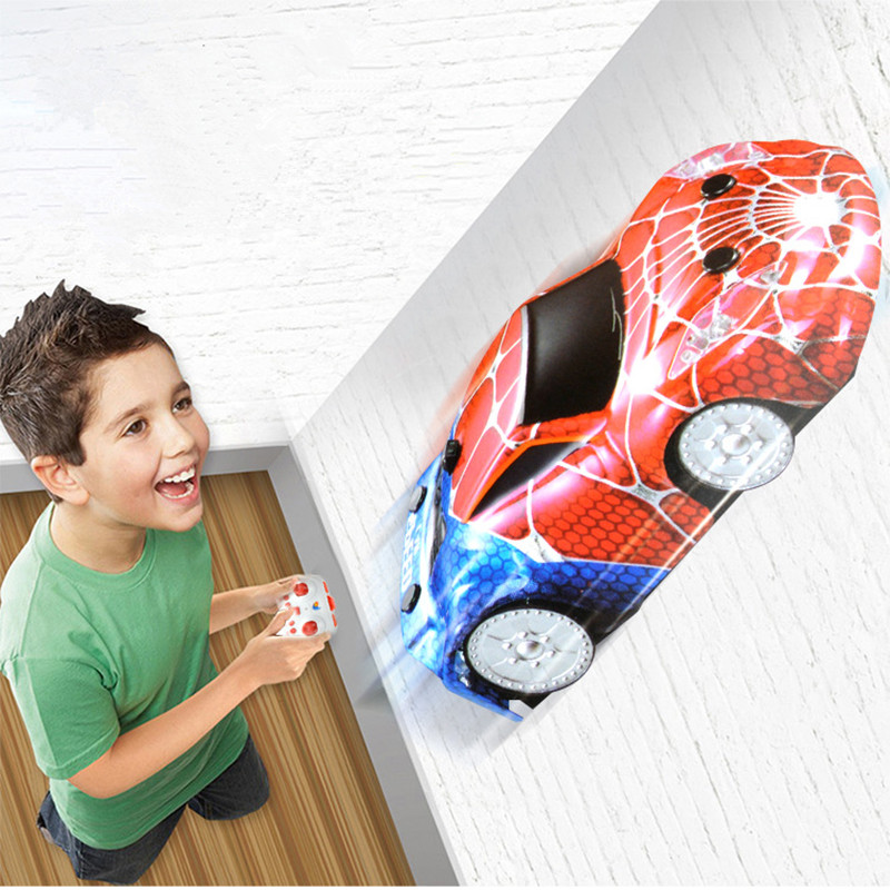 DROPSHIPPING RC Wall Climbing Car Remote Control Anti Gravity Ceiling Racing Car Electric Toy Floor Climber Mini RC Cars Gift