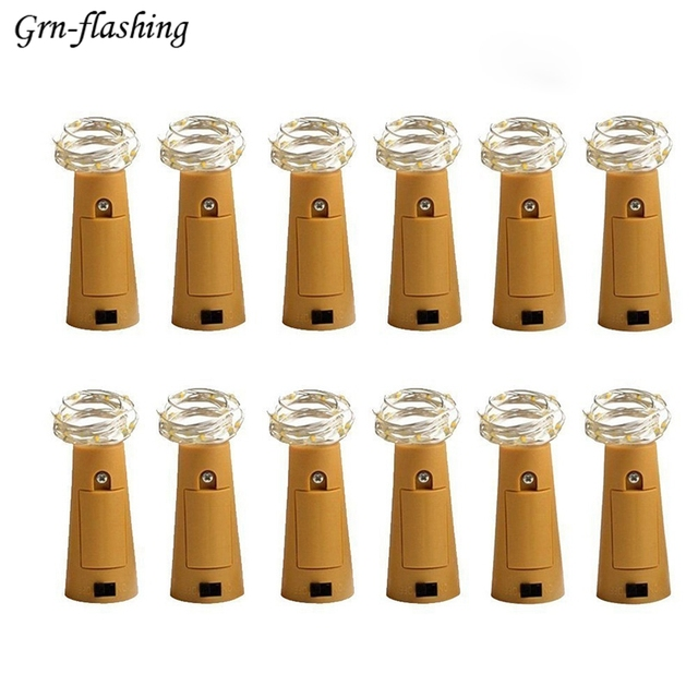 Cork Shaped Wine Bottle Lights