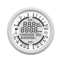 Автомобильный спидометр, gps, лодка, тахометр, Многофункциональный Датчик температуры воды, уровень топлива, вольтметр, давление масла, подхо