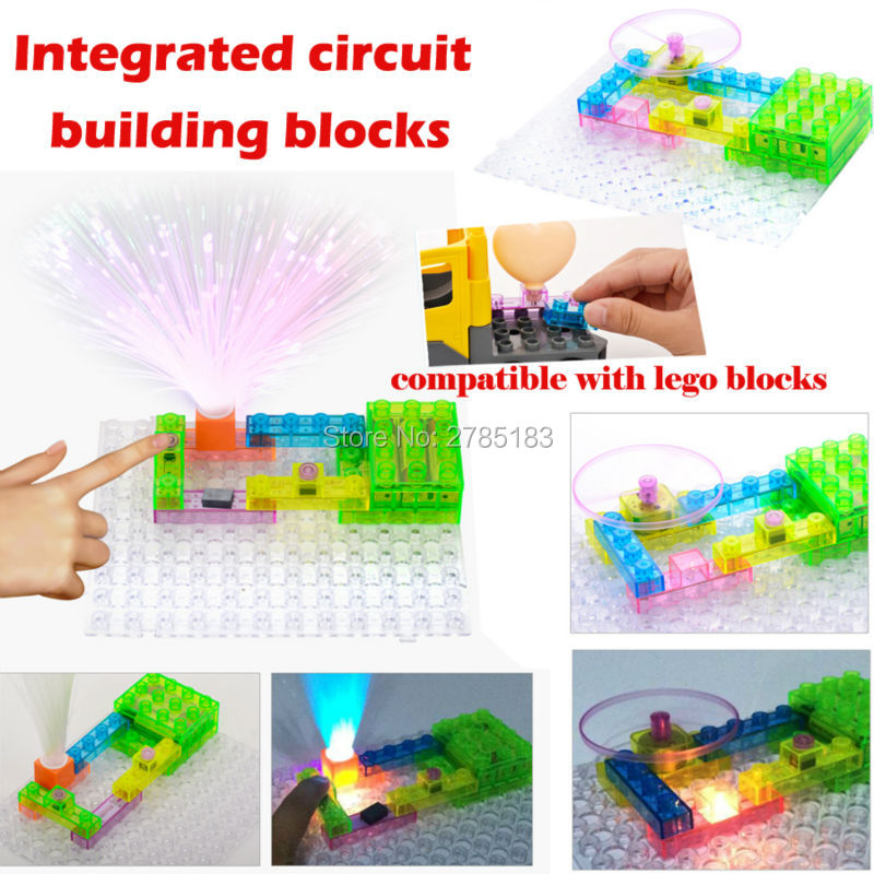 59 projects snap circuits Electronics Alarm Sounds+Music+Light+Fan ,model kits Science toys Integrated circuit blocks For Kids yourhope baby toddler harness safety learning walking assistant blue