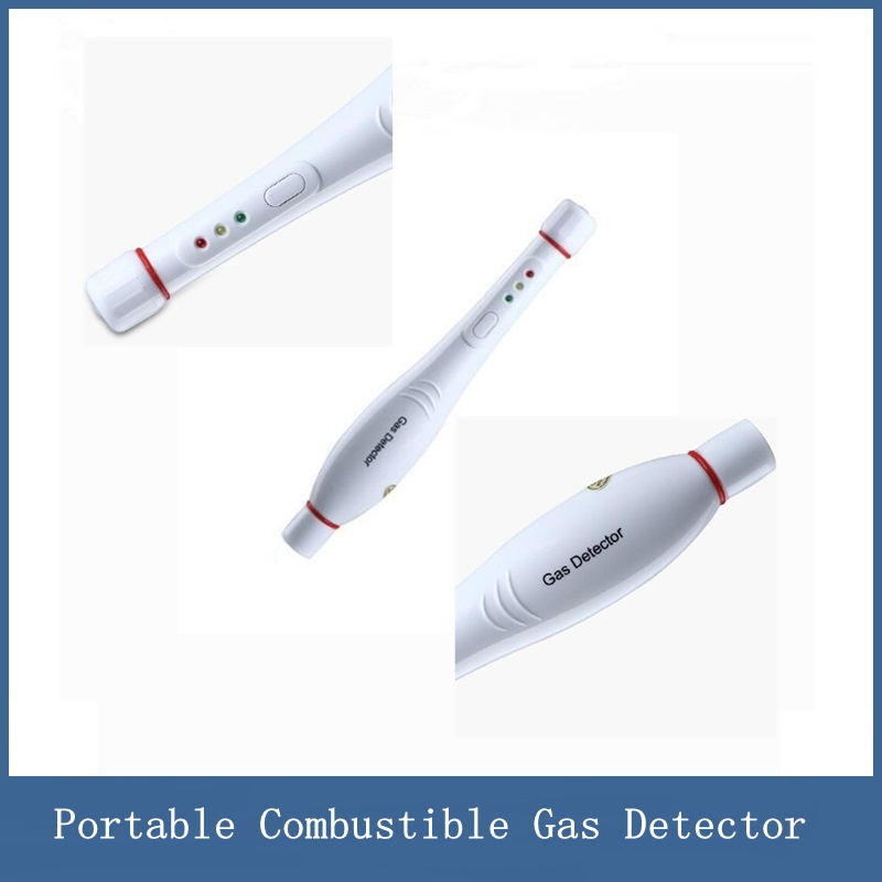 Portable Combustible Gas Detector, Leakage Alarm for Home liquefied Natural Gas Leakage Pipeline Leak Detection combustible gas leakage detector white ac 110 220v