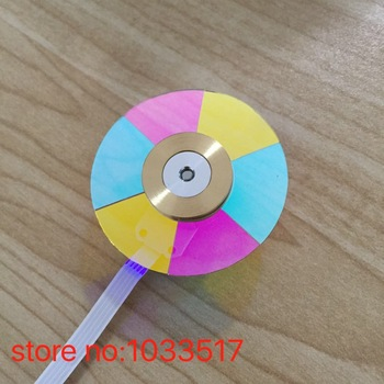 44mm diameter Brand new projector color wheel for Optoma HD73