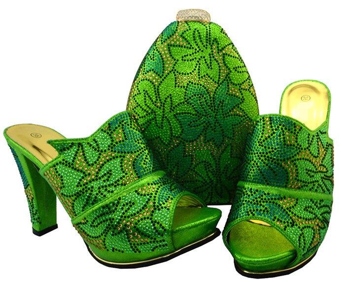 51a145950 Per Donne Dei Centimetri Del Delle 32 Tacco Il Green Borsa Fiammifero Verde  yellow Parte Pattini ...