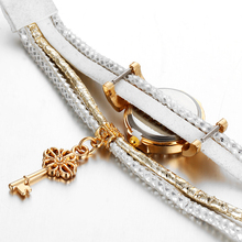 Lock Crystal & Watch Multi-layer Bracelet