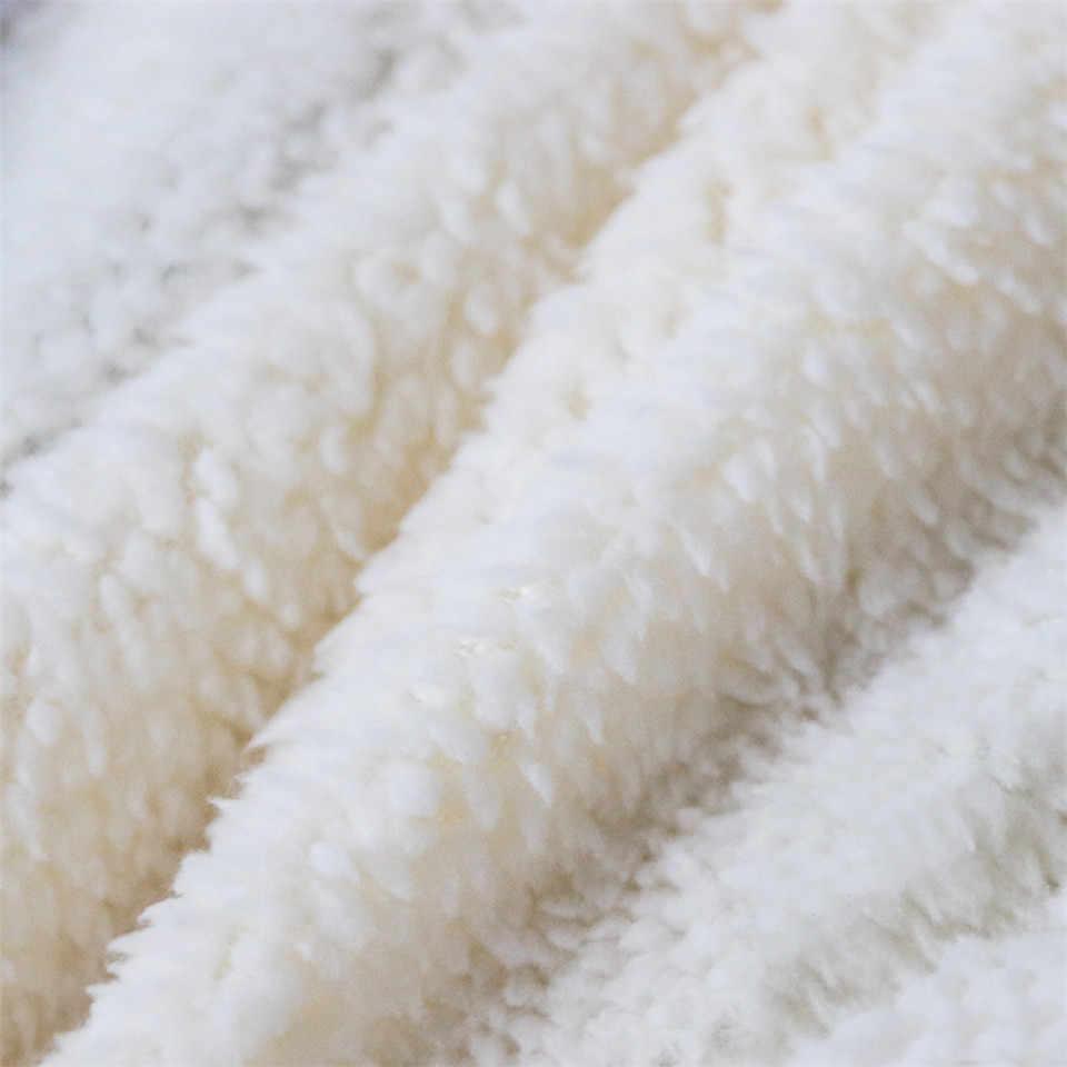 الوردي أنيمي 3D طباعة شيربا بطانية أريكة الأريكة لحاف غطاء السفر الفراش منفذ المخملية أفخم رمي الصوف بطانية المفرش جديد