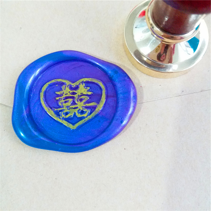 Wax Seal Stamp Set, Double Happiness wedding in Chinese Font XI ZI wax stamp,for wedding initations envelop seal joan costa font reforming long term care in europe