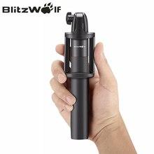 BlitzWolf беспроводной bluetooth телефон монопод выдвижной складной регулируемый палка для селфи Универсальный samsung Android iPhone