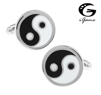 Igame Cuff Links Brass Material Chinese Design