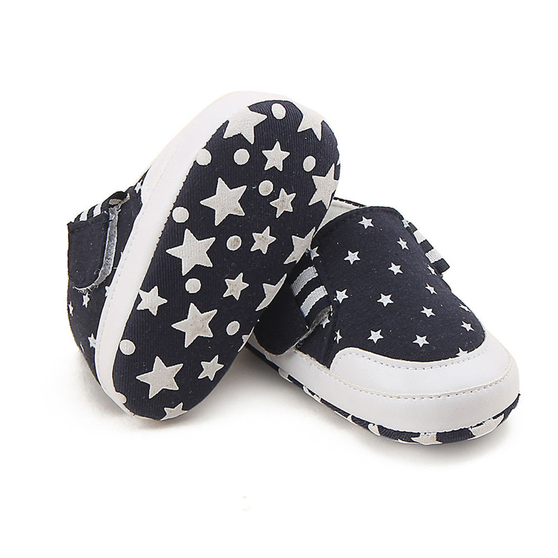 Baby shoes 2019 new Newborn Infant Baby Girl Boy Print Crib Shoes Soft Sole Anti-slip Sneakers Shoes #4M14 (16)