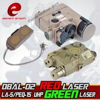 Element Accessoire Kit Omvat La-5/PEQ-15 LA-SC Uhp Groene Laser Dubbele Afstandsbediening DBAL-D2 Ir Laser DBAL-EMKII wapen Licht