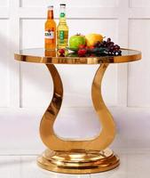 Golden Horn Several Sofa Edge Several Sitting Room Move Round Small Tea Table