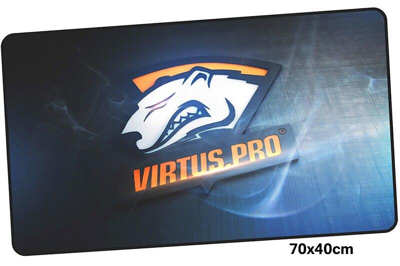 virtus pro pad mouse computador gamer mause pad 700x400X4MM padmouse big best mousepad ergonomic gadget office desk mats