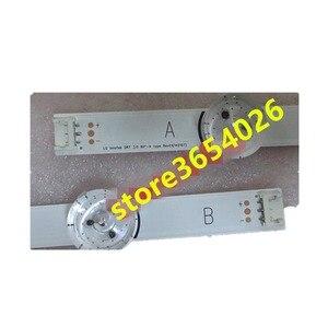 Image 3 - 4 pcs/ensemble bande rétro éclairage LED pour LG TV 60GB6580 LC600DUF innotek DRT 3.0 60 pouce Un B 6916L 1720A 6916L 1721A