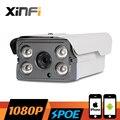 XINFI HD 2.0 МП ВИДЕОНАБЛЮДЕНИЯ POE камера ночного видения Открытый водонепроницаемый сеть ВИДЕОНАБЛЮДЕНИЯ 1920*1080 P ip-камера P2P ONVIF 2.0 дистанционного посмотреть