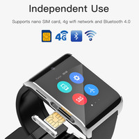 DM2018 pk i7 m26 h5 smartwatch 1.54inch Android 6.0 with heart rate monitor WiFi gps sos g sensor compass fitness tracker montre