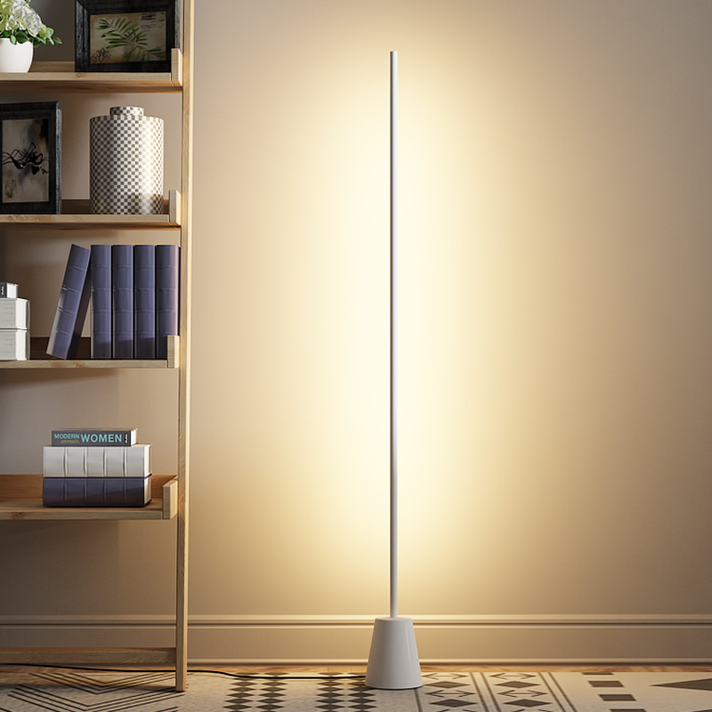 brand new 680bd eb531 US $149.0 20% OFF|luminaria Standing Lamps Living Room Bedroom Nordic LED  home Decor Iron floor Lamp Studyroom industrial lamps standing luminaire-in  ...