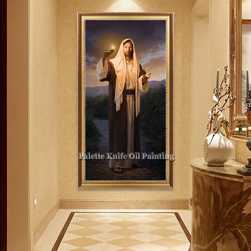 Jesus Christmas Decorations.Us 25 0 Poster And Print Of Jesus Christ Jesus On Canvas Christmas Decorations For Home Wall Pictures For Living Room Home Decor In Painting