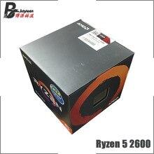 AMD Ryzen 5 2600 R5 2600 3.4 GHz sześciordzeniowy dwunastogwintowy procesor cpu YD2600BBM6IAF gniazdo AM4 nowy i z wentylatorem