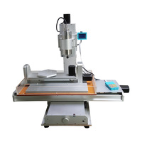 CNC 3040 5Axis Column Type USB Port CNC Milling Machine Metal Engraver VDF 1.5KW Spindle CNC Router For Pcb Wood Metal Cutting