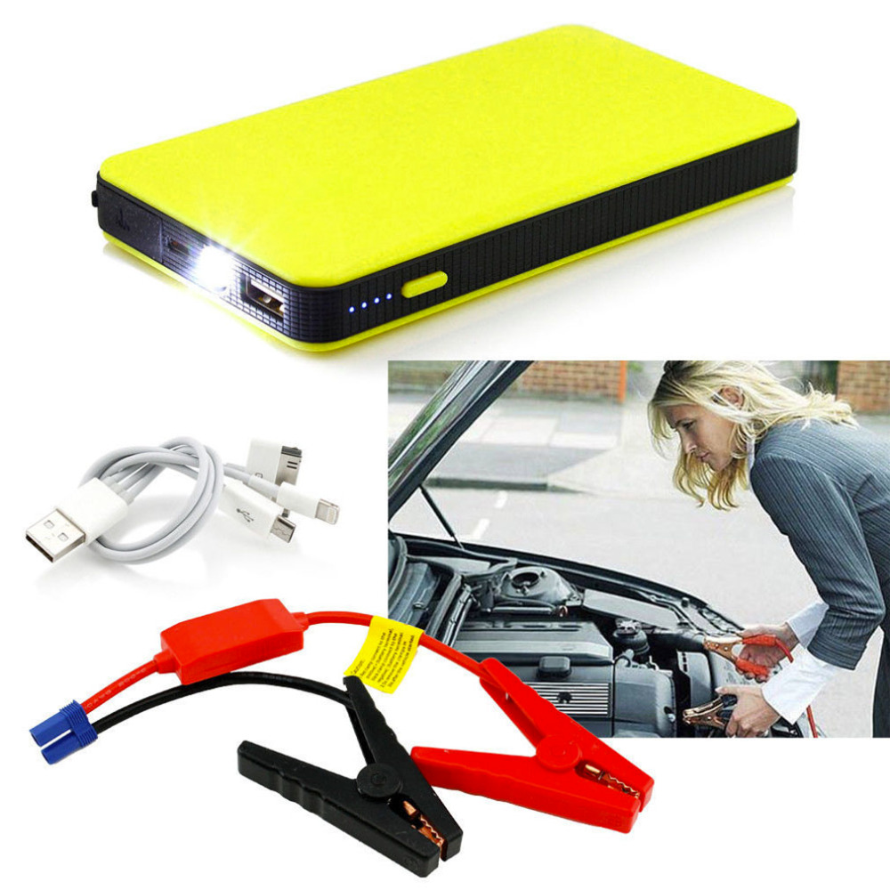 20000mAh Car Power jump Start 12V Auto Engine EPS Emergency Start Battery Source Laptop Portable Charger Utral-thin rogz адресник на ошейник для собак rogz fancy dress синий l 34 мм
