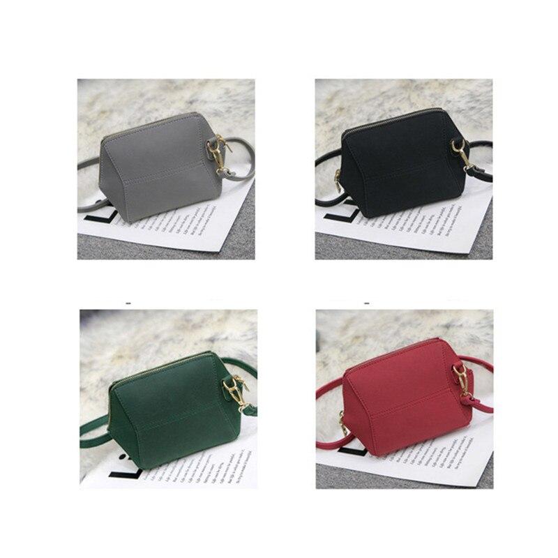 BARHEE Simple Mini Women Crossbody Tas Grijs Designer Messenger Bag - Handtassen - Foto 5