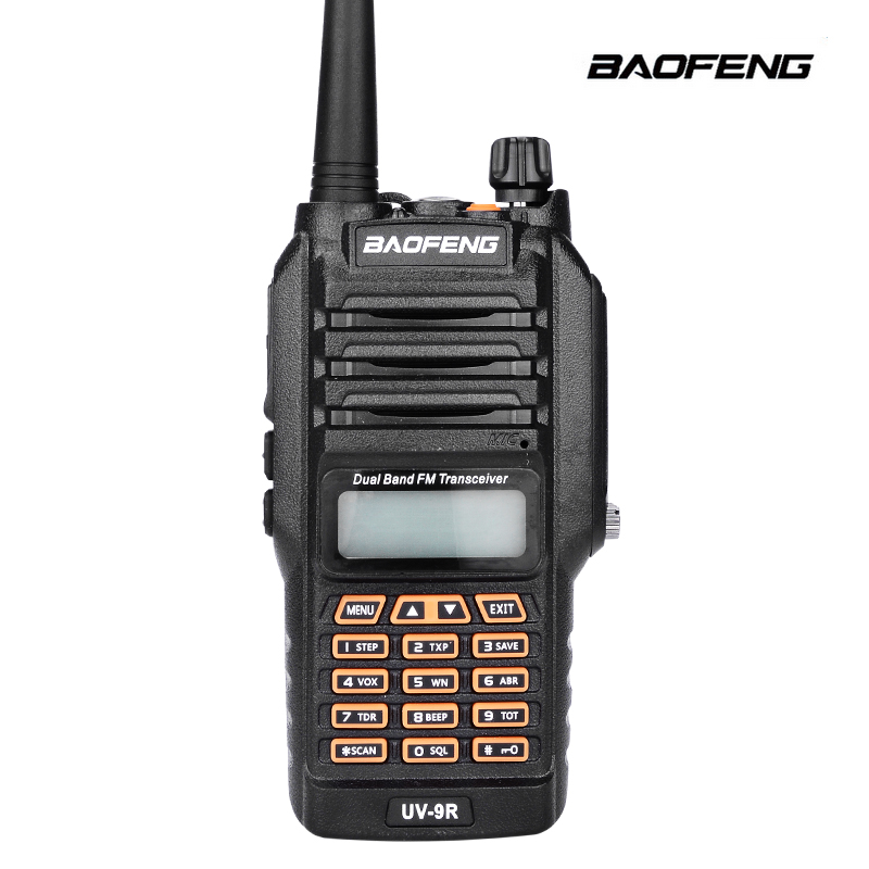 bilder für Baofeng bf-uv9r ip67 wasserdicht dual-band 136-174/400-520 mhz ham funkgeräte transceiver uv-5r walkie talkie upgrade-version