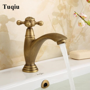 Single Cold tap Antique Brass Deck Mounted Basin sink faucet cold faucet Single Cold Basin Faucet Bathroom Faucet фото