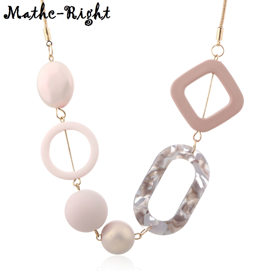 Women's Acrylic Beads Necklaces & Pendants for Wome