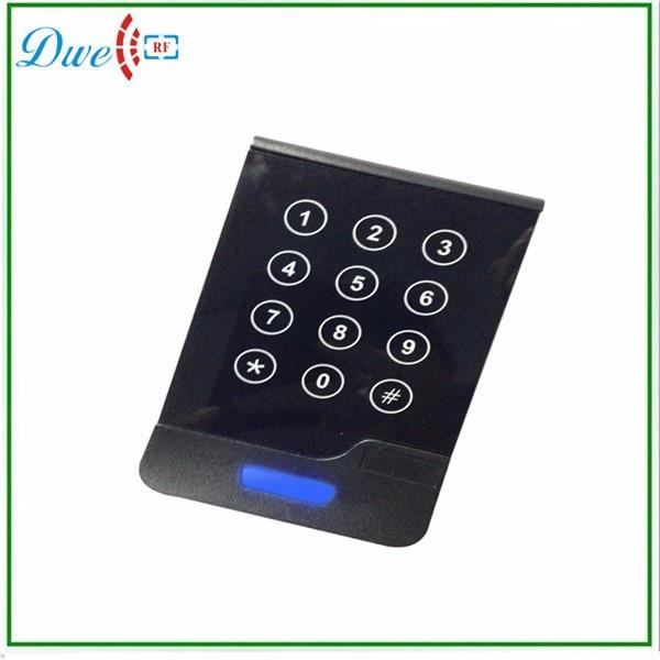 DWE CC RF Touch Screen Wiegand 34 RFID Reader Access Control with keypad dwe cc rf 125khz wiegand ip65 keypad passport reader for access control