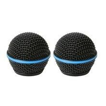 Bolymic Testa A Sfera In Metallo Microfono Griglia Microfoni Adatto Shure Beta58/Beta58A Microfono Professionale Della Fase Microfoni