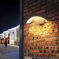 LukLoy СВЕТОДИОДНЫЙ Уличный настенный светильник простая Водонепроницаемая настенная лампа для балкона