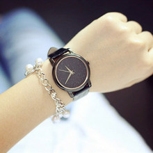 Fashion classic Watch Women Relogio Feminino Black Dial Casual Men Quartz Wristwatch Simple Elegant Style Leather Strap Watch