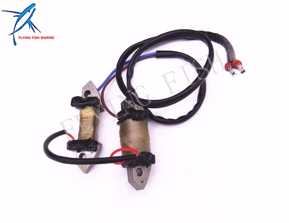 Outboard Engine T40-05040007 Charge Coil for Parsun HDX 2-Stroke 40CV T40 T40BM T40BW T40G  T30BM 2 Stroke G type Free Shipping