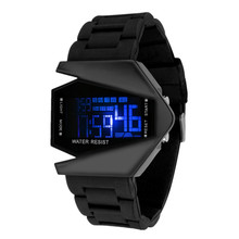 2016 New Fashion LED Watch Rubber Strap Digital Watches Cool Sports Watch Men Watch Hour Clock relogio masculino reloj hombre