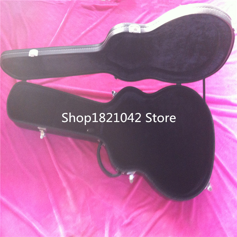 Acoustic guitar case, black leather with guitar for sale, don't buy to hurry up to buy separately ,41,43 new mf8 eitan s star icosaix radiolarian puzzle magic cube black and primary limited edition very challenging welcome to buy
