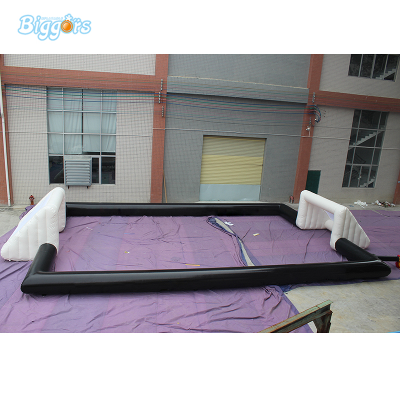 Outdoor Commercial Inflatable Interactive Sport Field Soccer Pitch