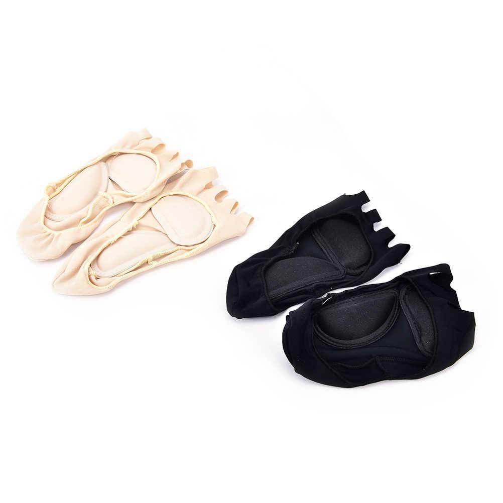 2PCS Fünf Finger Zehen Kompression Socken Arch Unterstützung Entlasten Fuß Schmerzen Socken Gesundheit Fußpflege Massage Kappe Socken