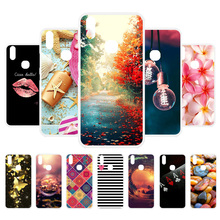 3D DIY Soft Silicone Case For Vivo V9 Coque Y85 Cover Flamingo Painted Back  Fundas Housings