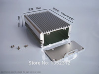 One pcs 70*35*100mm small aluminum box for electronic project housing DIY chassis case  power supply box PCB shell