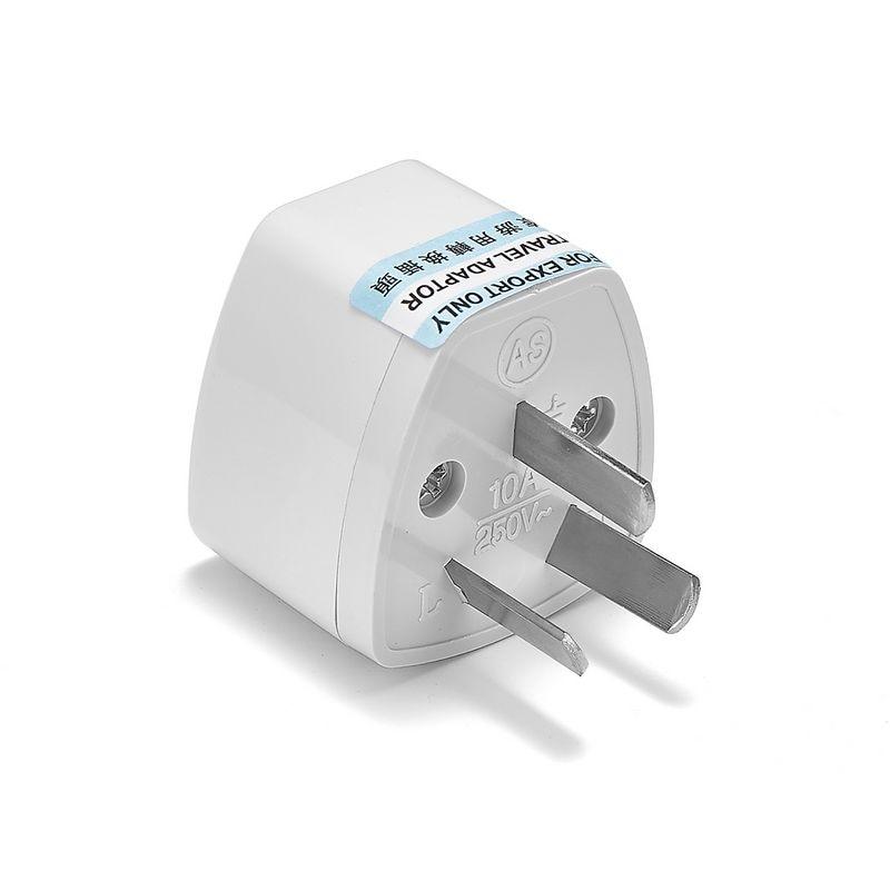 500pcs AU Australia Power Adapter Universal EU European UK US To AU Australian AC Travel Adapter Electric Plug Socket Outlet