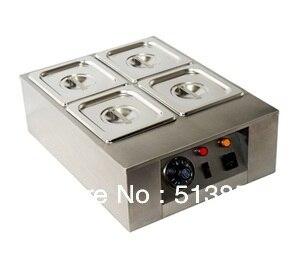 4 Lattice Chocolate Melting Pot/ chocolate melting furnace
