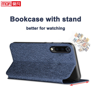 Image 2 - กรณีพลิกสำหรับXiaomi Mi9กรณีXiaomi 9 ExplorerฝาครอบหนังMofi Xiaomi Mi9 Coque Slim Book Luxury Glitter xiaomi 9