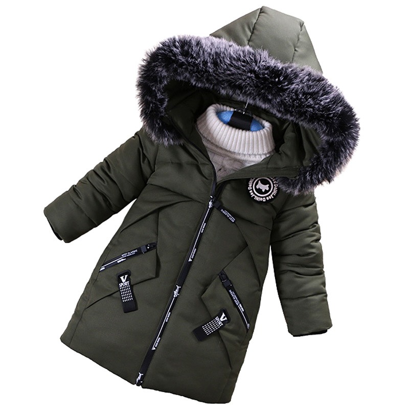 Baby Boys Jacket 2018 Winter Jacket For Boys Children Jacket Kids Hooded Warm Outerwear Coat For Boy Clothes 2 3 4 5 6 Year baby girls jacket 2018 autumn winter jacket for girl coat infant kids warm outerwear coat for girl children clothes 1 2 3 4 year
