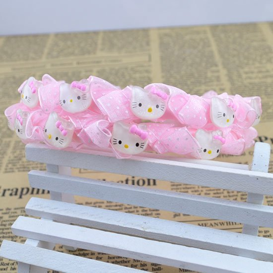 New Fashion Cute kitty hairbands children princess kid's party gift hair accessories H151
