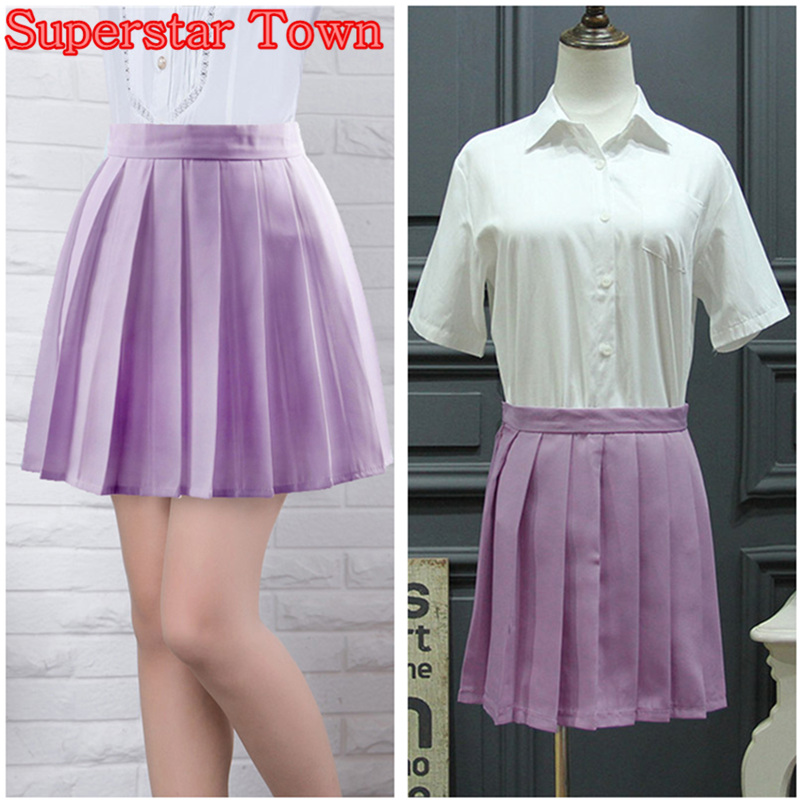Popular Purple Pleated Skirt-Buy Cheap Purple Pleated Skirt lots ...