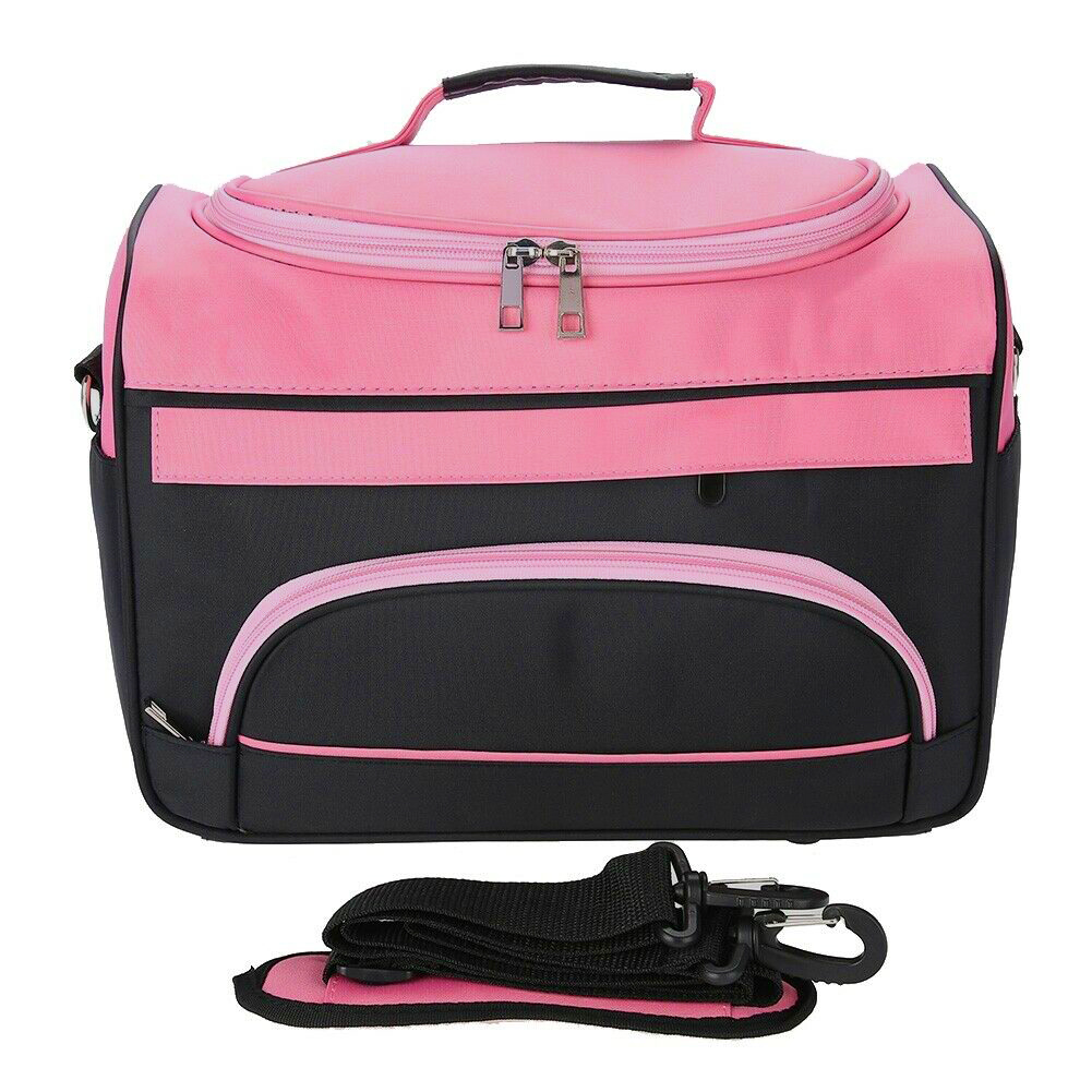 Travel Micro Fiber Organizer Large Capacity Cosmetic Bag Make Up Wear Resistant Tools Storage Outdoor Carrying Anti Skid Salon(China)